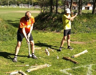 Dan og Jens afprøver den nye motionsform ACT