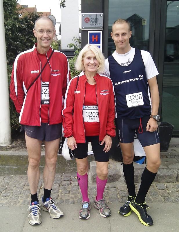 Fra venstre: Erik - Birgit - Michael