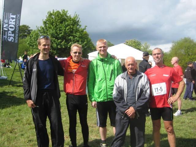 Fra venstre: Jens-Mogens-Thomas-Villy-Palle