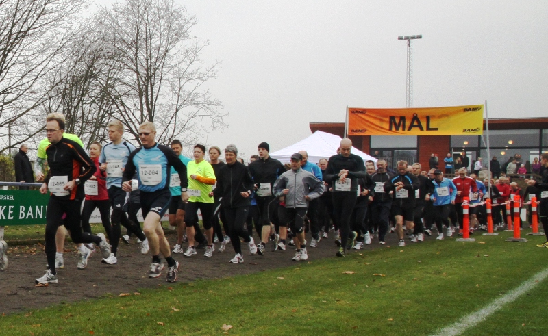 Start på Egeskvløbet 2011 - 12 km ruten