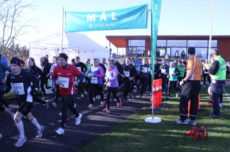 Start på Egeskovløbet 2012