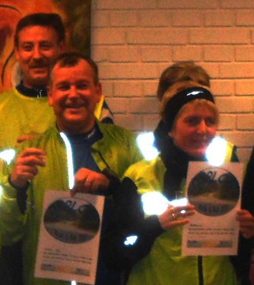 Jeg er nu løber med diplom - walk & run 2011